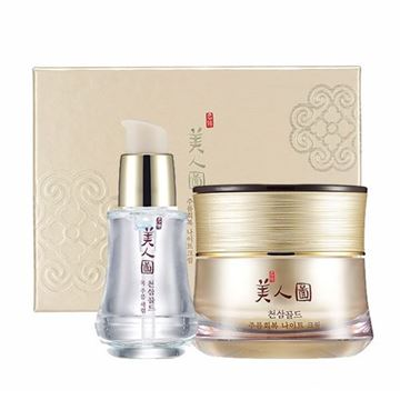 Picture of MYEONGHAN MIINDO HEAVEN GRADE GINSENG WRINKLE CARE NIGHT CREAM SPECIAL SET