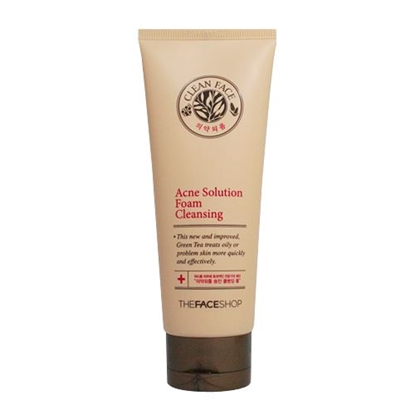 Picture of CLEAN FACE ACNE SOLUTION FOAM CLEANSING