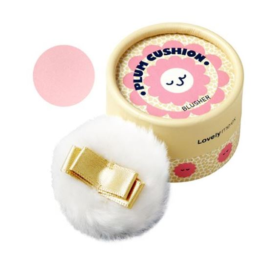 Picture of LOVELY MEEX PASTEL CUSHION BLUSHER 03 PLUM CUSHION