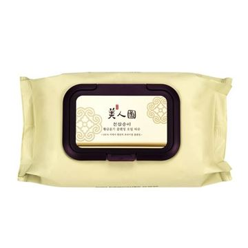 Picture of MYEONGHAN MIINDO HEAVEN GRADE GINSENG GLOWING CLEANSING OIL WIPES