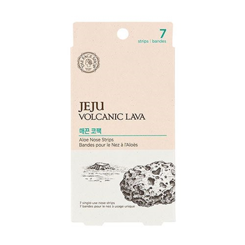 Picture of JEJU VOLCANIC LAVA ALOE NOSE STIPS 7EA