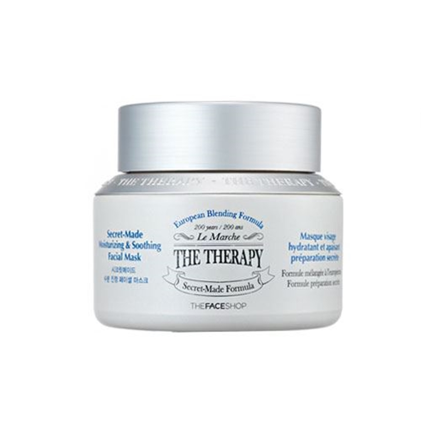 Picture of THE THERAPY SECRET-MADE MOISTURIZING&SOOTHING FACIAL MASK