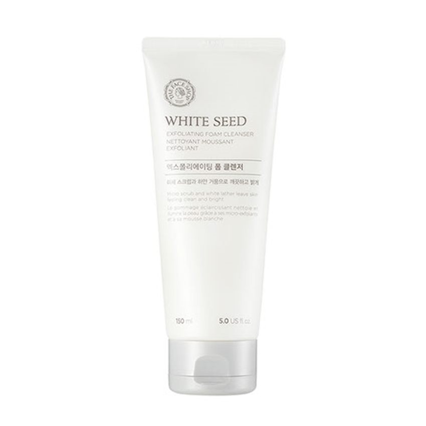 Picture of WHITE SEED EXFOLIATING FOAM CLEANSER