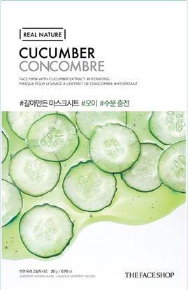 Picture of REAL NATURE MASK SHEET CUCUMBER