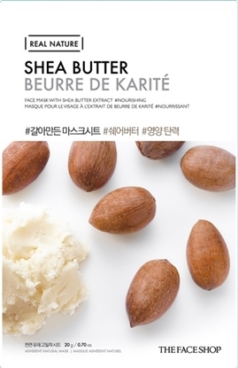 Picture of REAL NATURE MASK SHEET SHEA BUTTER