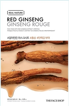 Picture of REAL NATURE RED GINSENG FACE MASK