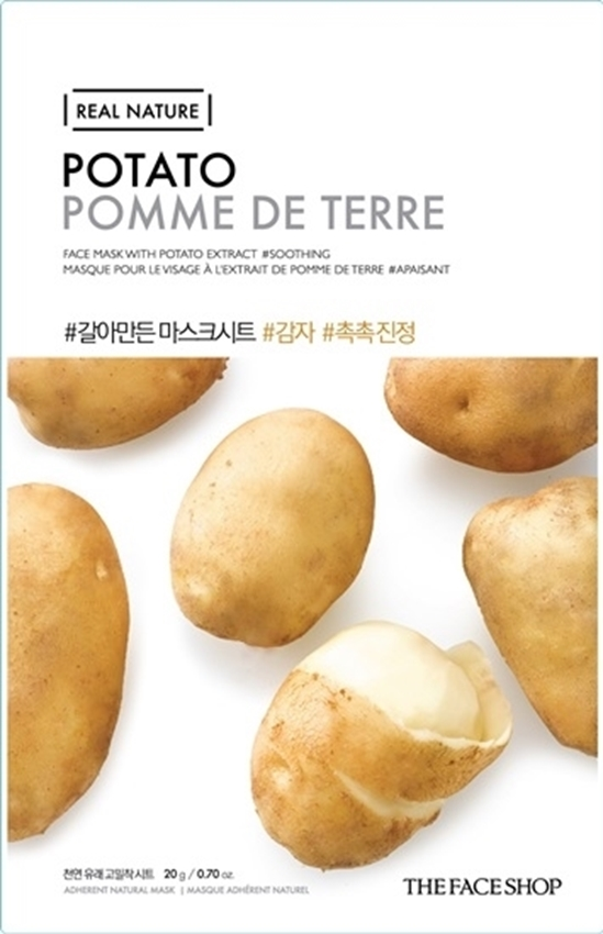 Picture of REAL NATURE FACE MASK POTATO