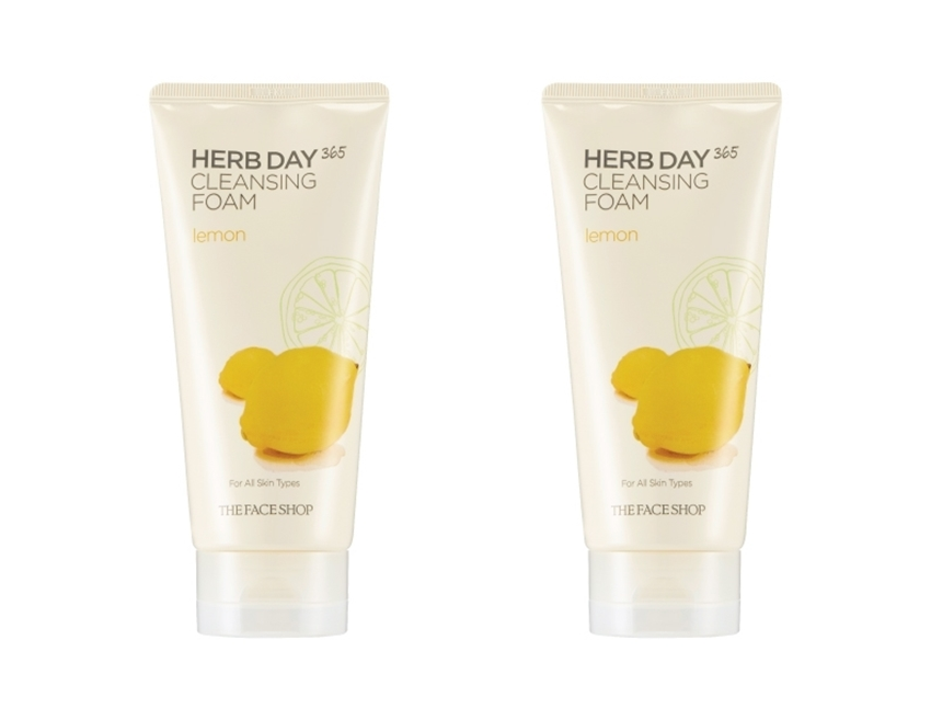 Picture of HERB DAY 365 CLEANSING FOAM LEMON LOT (2)