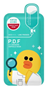 Picture of Mediheal Line Friends P.D.F AC Dressing Amopoule Mask 1 Piece