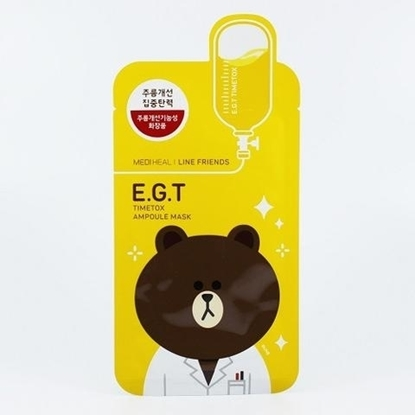 Picture of Mediheal Line Friends E.G.T Timetox Ampoule Mask 1 Piece