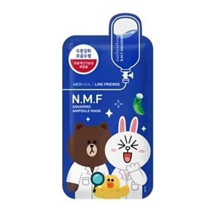 Picture of Mediheal Line Friends N.M.F Aquaring Ampoule Mask 1 Piece