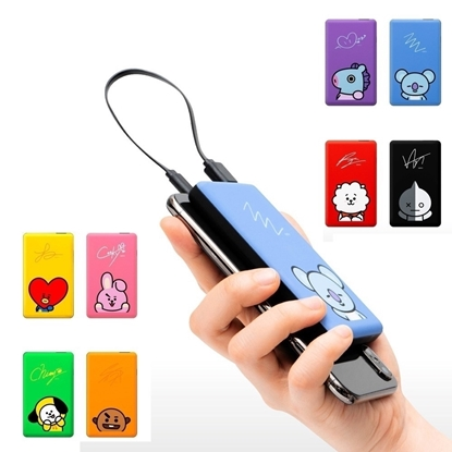 Picture of BT21 POWER BANK 5000 MANG