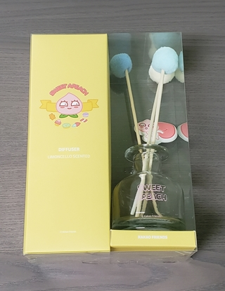 Picture of Kakao Friends Sweet Apeach Stick Diffuser Air Freshener LIMONCELLO