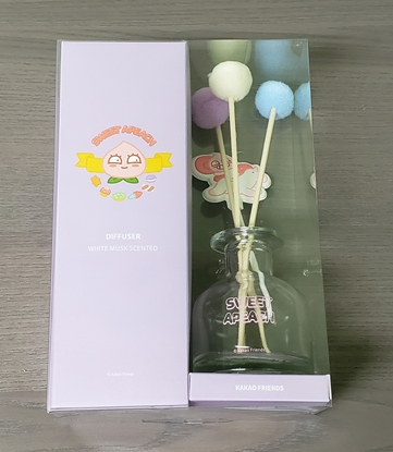 Picture of Kakao Friends Sweet Apeach Stick Diffuser Air Freshener WHITE MUSK SCENTED