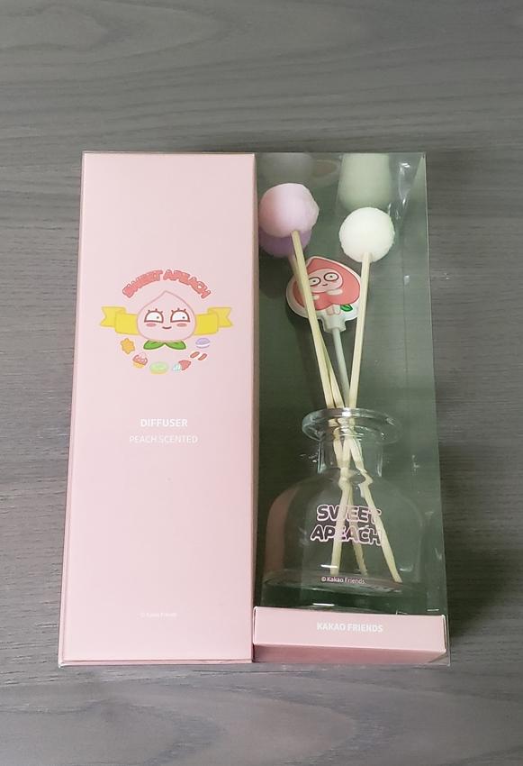 Picture of Kakao Friends Sweet Apeach Stick Diffuser Air Freshener PEACH