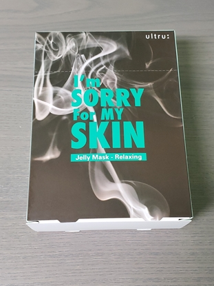 Picture of I'm Sorry For My Skin Jelly Mask RELAXING Box Set 10 pc