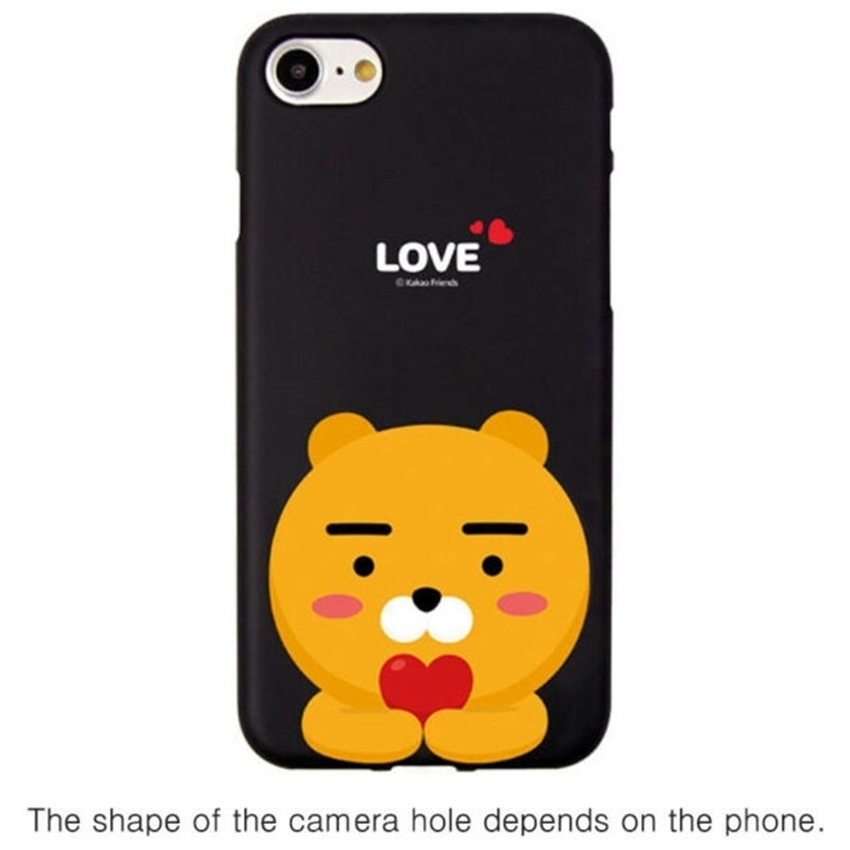 Picture of Kakao Friends Love Soft Case iPhone 11 Pro RYAN(black)