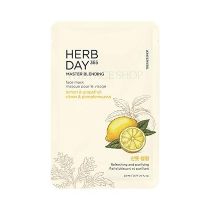 Picture of Herb Day 365 Master Blending Face Mask Lemon & Grapefruit