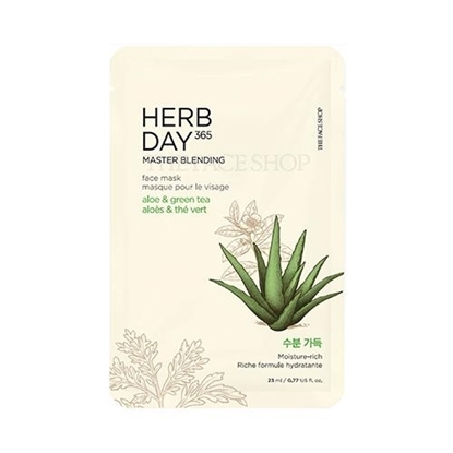 Picture of Herb Day 365 Master Blending Face Mask Aloe & Green Tea
