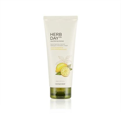 Picture of HERB DAY 365 MASTER BLENDING FACIAL FOAMING CLEANSER  LEMON & GRAPEFRUIT