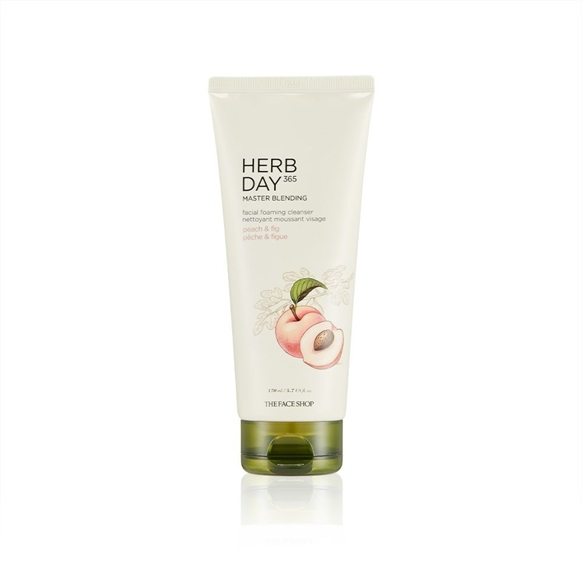 Picture of HERB DAY 365 MASTER BLENDING FACIAL FOAMING CLEANSER PEACH & FIG