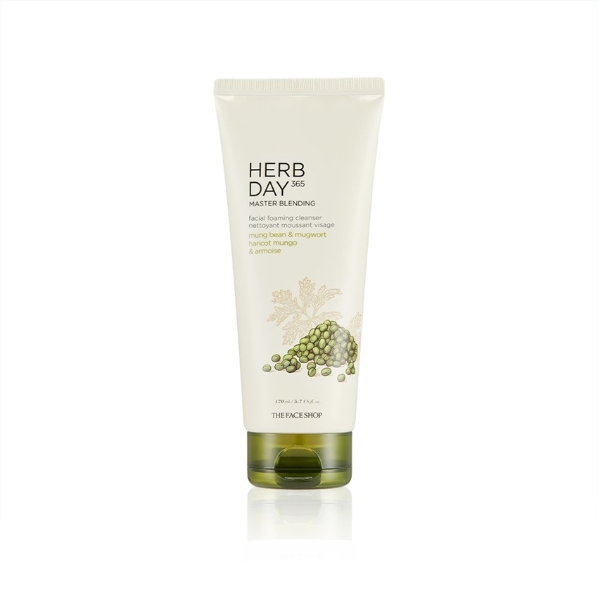 Picture of HERB DAY 365 MASTER BLENDING FACIAL FOAMING CLEANSER MUNG BEAN & MUGWORT