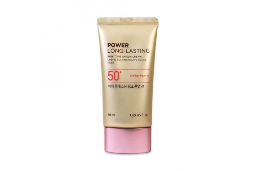 Picture of POWER LONG-LASTING PINK TONE UP SUN CREAM