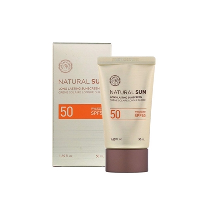 Picture of THEFACESHOP Natural Sun Long Lasting Sunscreen