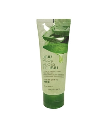 Picture of Jeju Aloe Fresh Soothing Foam Cleanser