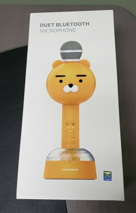Picture of Duet Bluetooth Microphone by Kakao Friends Home Party Android iPhone *RYAN*