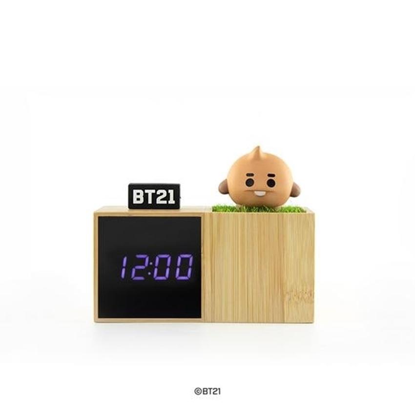 Picture of BT21 LED Digital Desk Clock SHOOKY Official LINE Friends